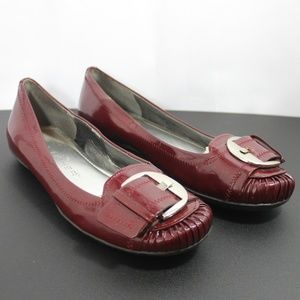 Marc Fisher Mfcalise Patent leather flats 6 M